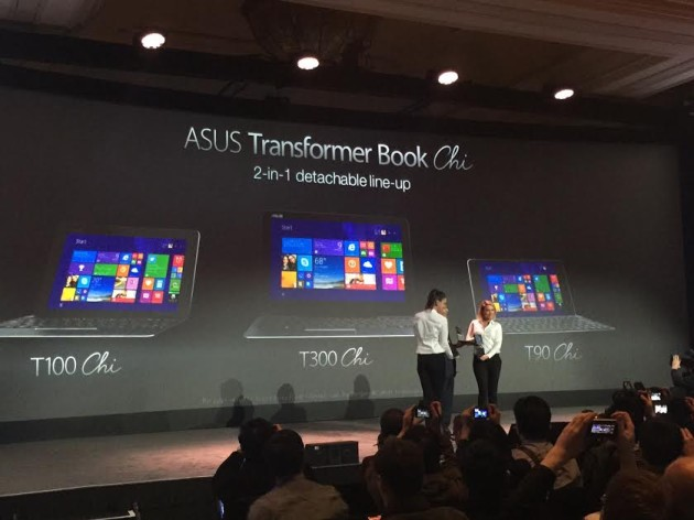 ASUS Transformer Book Chi Family of Windows Devices Unveiled