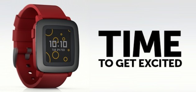 New Pebble Time smartwatch unveiled with color screen, new software (Update)