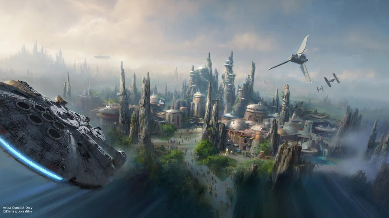Star Wars themed lands announced for Disneyland and Walt Disney World Parks