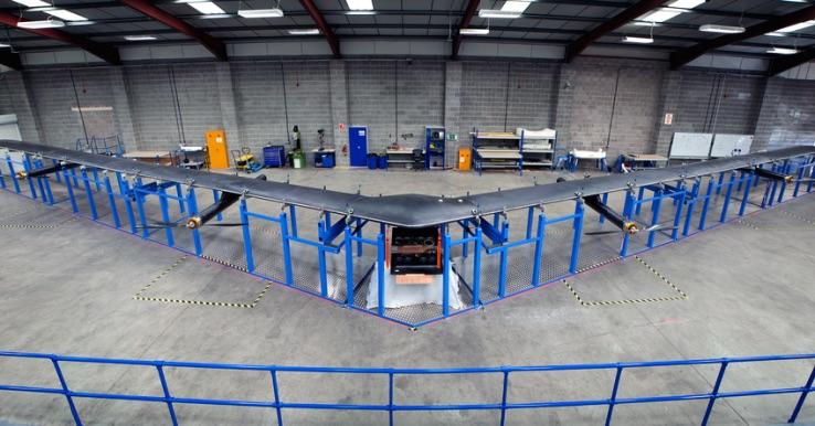 Facebook's Internet drones ready to take flight