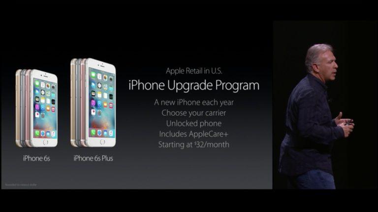 Apple announces the iPhone Upgrade Program