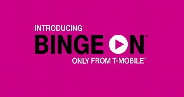 """T-Mobile """"Binge On"""" lets you stream unlimited video… in 480p"""