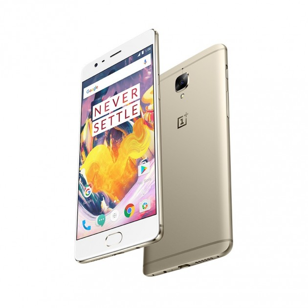 OnePlus 3T is now available in soft gold