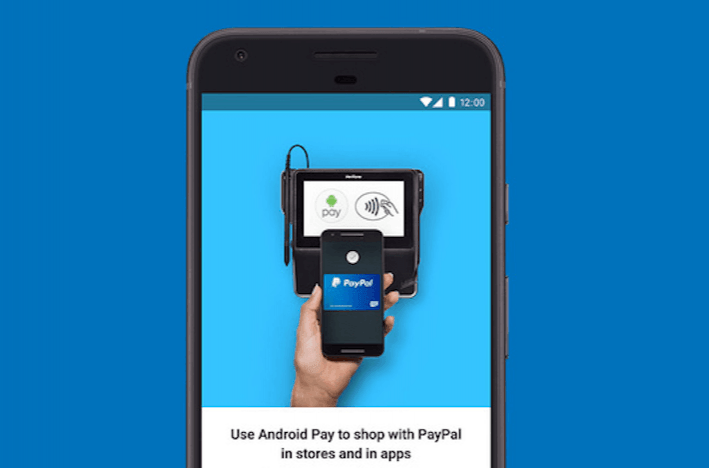 You can finally use your PayPal account to pay for goods through Android Pay